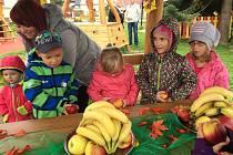 Děti v Číčenicích mají nové hřiště.