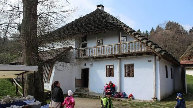 Vodní mlýn Hoslovice.