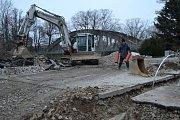 Koncem měsíce listopadu bude dokončena rekonstrukce objektu Lesní správy Vodňany.