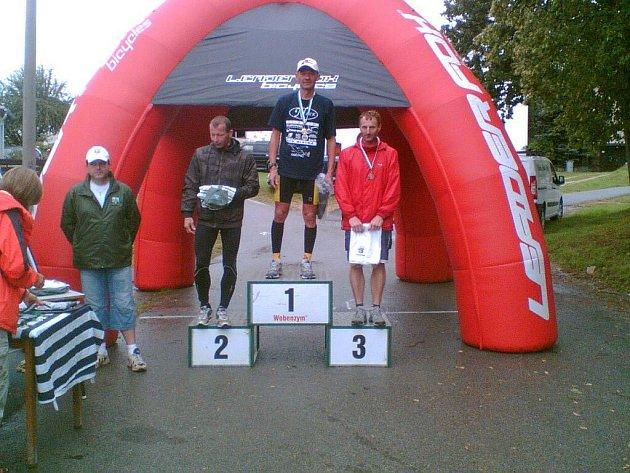 Blatenský závodník opět zvítězil.