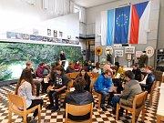 Setkání studentů Gymnázia Vodňany a bavorského Gymnázia Zwiesel v Bavorské Železné Rudě.