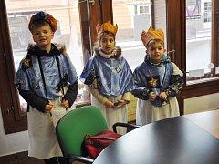 V pátek 6. ledna také k nám do redakce Strakonického deníku zavítali Tři králové.