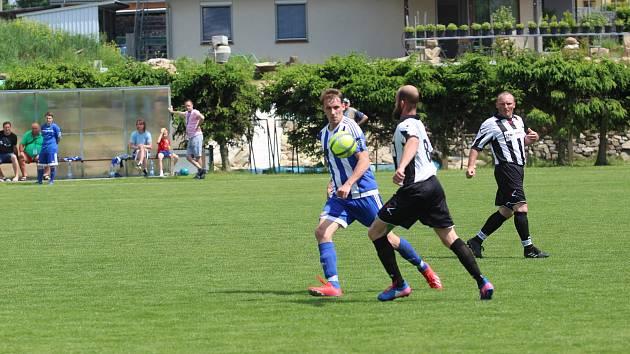 Fotbalová I.B třída: Dražejov - Sousedovice 1:1.