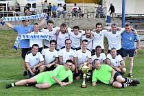 Finále okresního poháru: Drahonice - Mnichov 4:0.