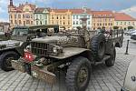Výstava starých motocyklů a aut se odehrála v sobotu 12. června ve Vodňanech.