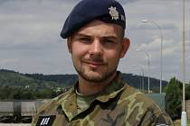 Praporčík Michael Šnajdar.