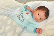 Max Klíma z Horažďovic. Maxík se narodil 17. 9. 2020 v 8.15 hodin a jeho porodní váha byla 3 200 g. Chlapeček je prvorozený.
