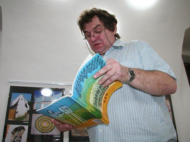 Křest třetího dílu pověstí spisovatele Ondřeje Fibicha
