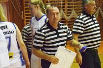TRENÉŘI U19 Chance Jiří Johanes a Petr Martínek (zprava) věří, že Strakonice nejvyšší soutěž nakonec udrží.