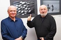 Výstava fotografií ve Vodňanech patřila v sobotu 23. února v minigalerii U zubaře Karlu Burdovi.