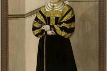 Portrét Anny z Rožmitálu.
