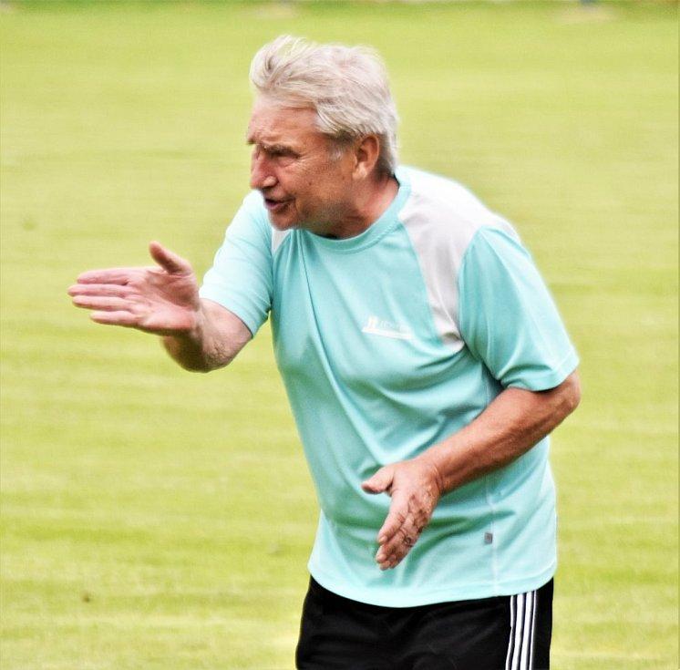 Trenér Petr Hrnčíř.