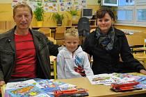 První školní den na ZŠ Bavorovská