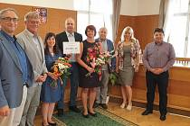 Blatná darovala nemocnici 40 000 korun.