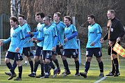 Fotbalový KP: Katovice - Jankov 2:1.
