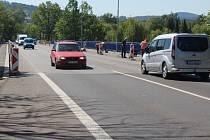 Začíná oprava mostu u jatek ve Strakonicích.