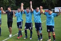 Fotbalová divize: Katovice - Beroun 5:2.