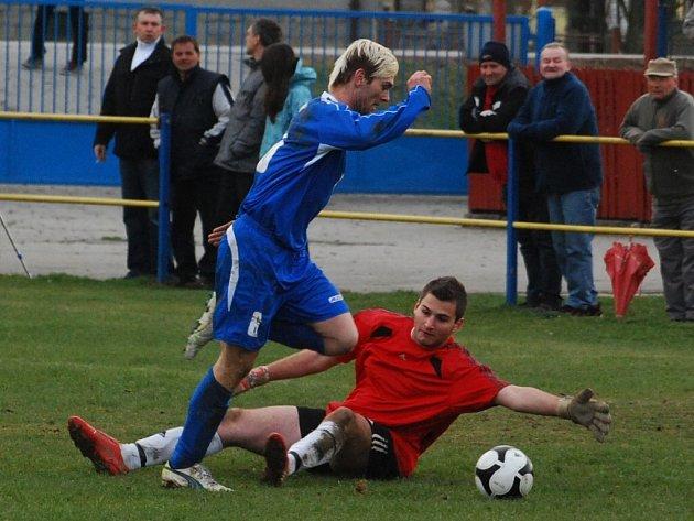 Tomáš Machnyk dal dva góly.