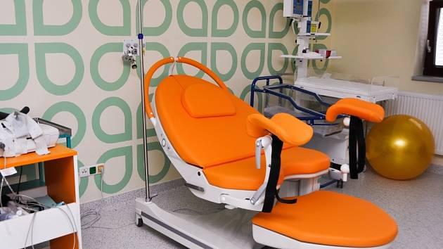Nemocnice má dvě nová porodní lůžka, která uvedla do provozu v minulých dnech.