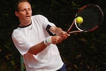 Strakonický tenista Pavel Procházka.