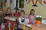 První školní den na ZŠ ve Volyni.