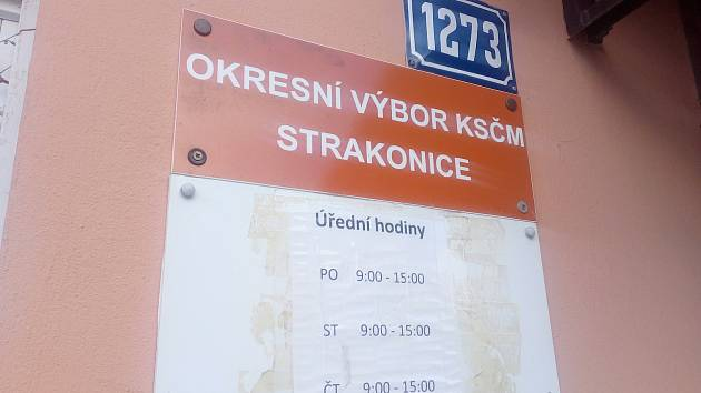 OV KSČM Strakonice.