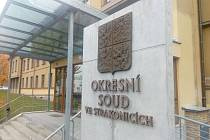 Okresní soud ve Strakonicích. Ilustrační foto.