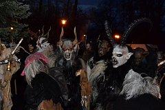 V sobotu 2. prosince projde městem již druhý pochod Krampusů