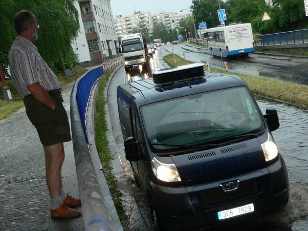 Viadukt pod vodou