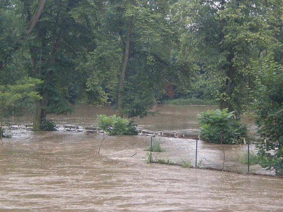 Povodně 2009 Vodňany