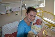 Matyáš Eichner, Hněvkov, 2.9.2018 v 18.33 hodin, 3100 g. Malý Matyáš je prvorozený.