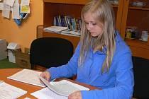 Šárka Bauerová ze Základní školy J.A. Komenského v Blatné