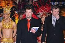 Martin Levý (uprostřed)