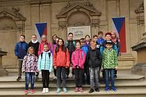 Volenice - Volenické  děti se podívaly i do zákoutí sněmovny kudy chodí pouze prezident a významné návštěvy