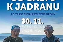 Blatenský cyklista a cestovatel František Šesták křtí svoji knihu.