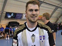 Tomáš Pek rozhodl o prvním vítězství Strakonic.