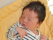 Matyáš Šeliga, Blatná,  8.4. 2017 v 10.39 hodin,  3730 g. Malý Matyáš je  prvorozený.