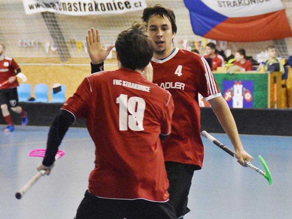 Florbalisté Strakonic proti Liberci zabojovali a vyhráli gólem v prodloužení.