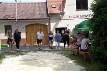 Turnaj v pétanque v Číčenicích