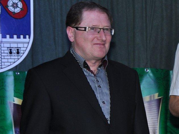 Nový předseda SK Slavoj Volyně Václav Valhoda.  Foto: Jan Škrle