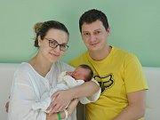 Adriana Chytilová, Strakonice, 22.1. 2018, v 15.25 hodin, 3200 g. Malá Adrianka je prvorozená.