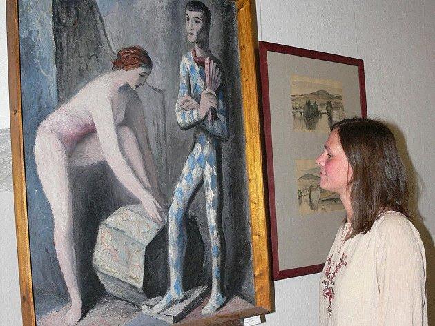 Výstava tvorby Petra Dillingera.