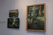 Vodňany – Umělci z Klubu vodňanských výtvarníků zaplnili městskou galerii svými výtvory, na kterých pracovali v právě končícím roce.