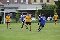 Fotbalová příprava: Blatná - Kovářov 3:2.