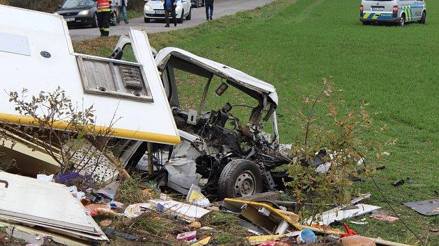 Nehoda na přejezdu v Sudoměři