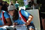 Vodní slalomářka Tereza Fišerová se do Strakonic velmi ráda vrací.