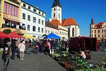 Trhy ve Vodňanech 21. dubna.