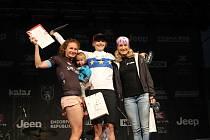 Takto se Jana Pichlíková radovala z titulu evropské šampionky. Nyní přidala i titul světový.