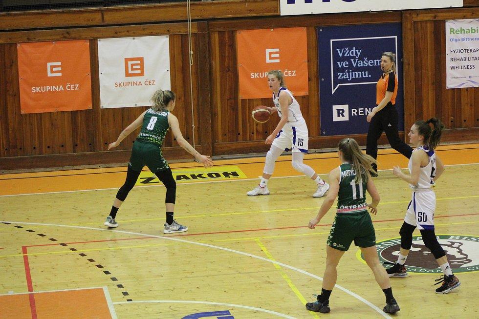 Renomia ŽBL: BK Strakonice - SBŠ Ostrava 69:89.