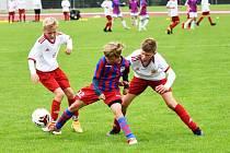 Česká liga žáci U13: Junior Strakonice - Viktoria Plzeň 1:6.